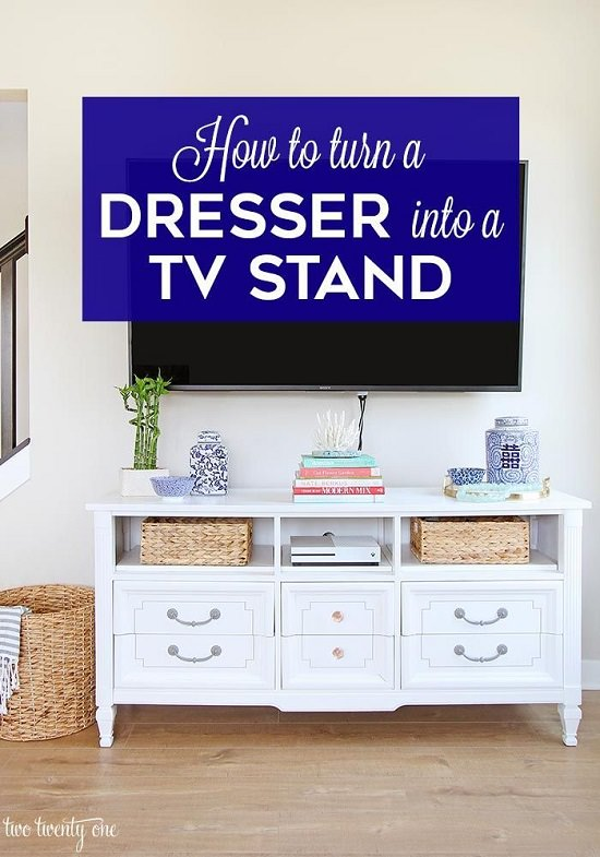 DIY TV Stand Ideas6