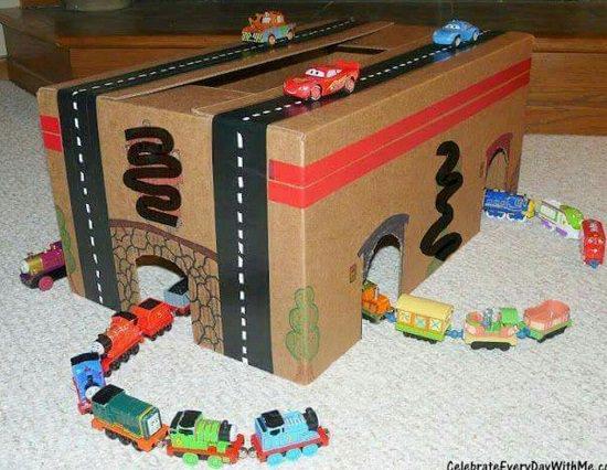 Cardboard Sports Tunnel