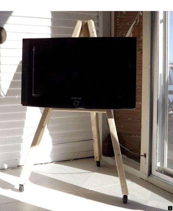 TV Stand on Wheels