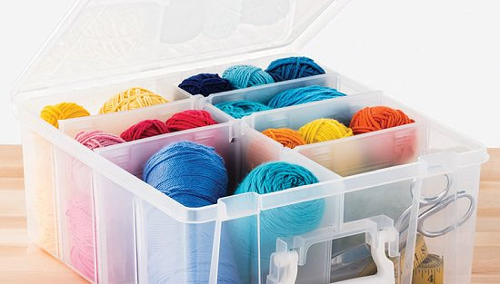 Craft Room Yarn Storage Ideas8