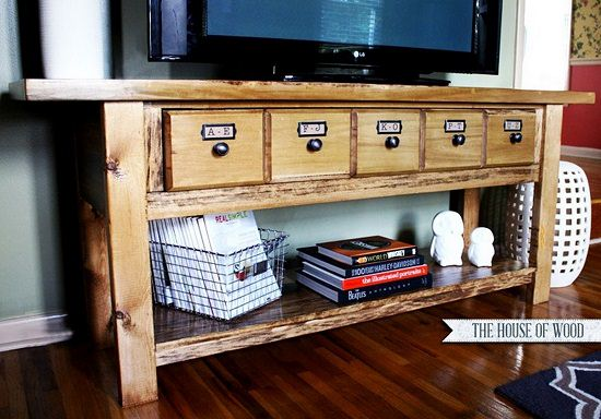 DIY TV Stand Ideas9