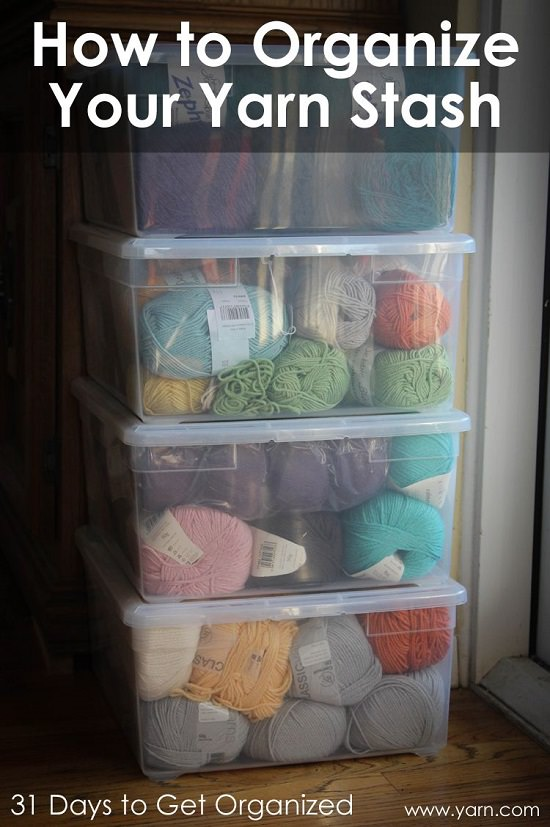 Craft Room Yarn Storage Ideas2