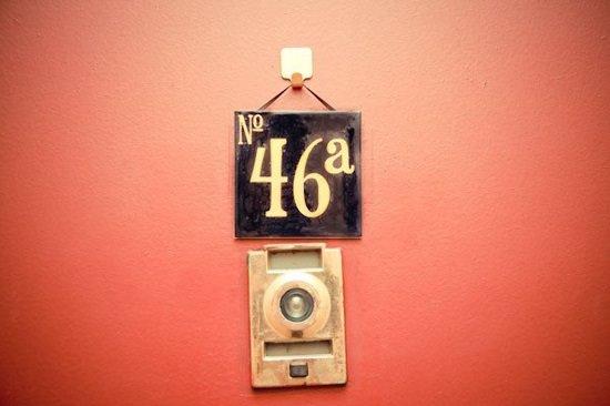 Cardboard Door Numbers