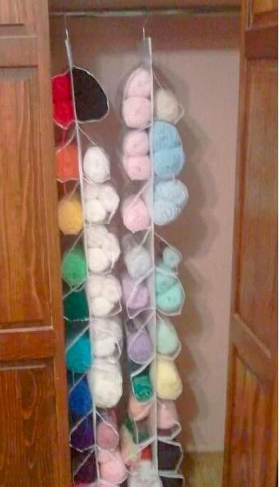 Craft Room Yarn Storage Ideas1