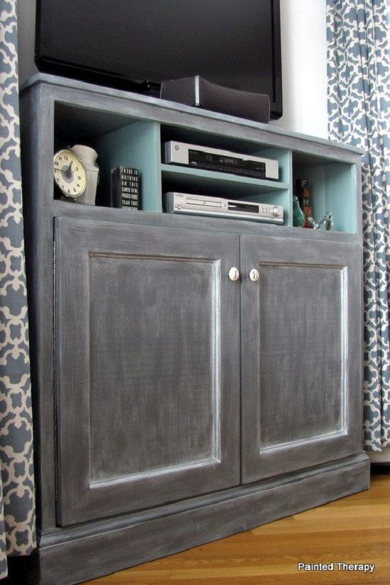 Tall Media Console