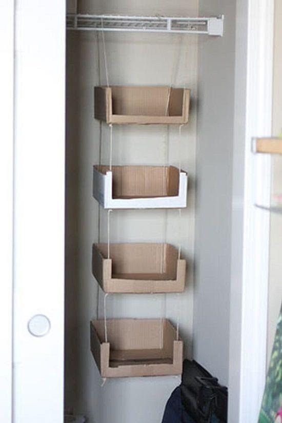 Recycled Cardboard Storage