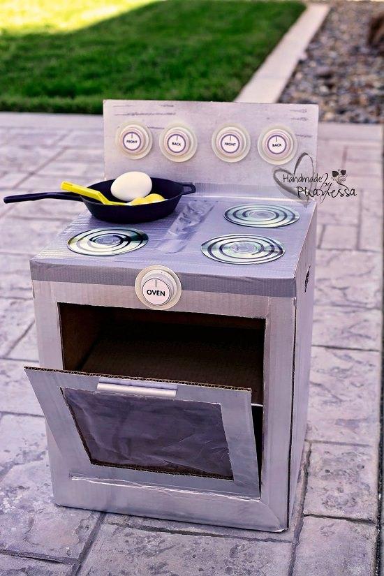 Cardboard Stove Oven Set