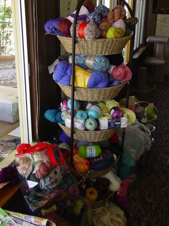 Craft Room Yarn Storage Ideas3