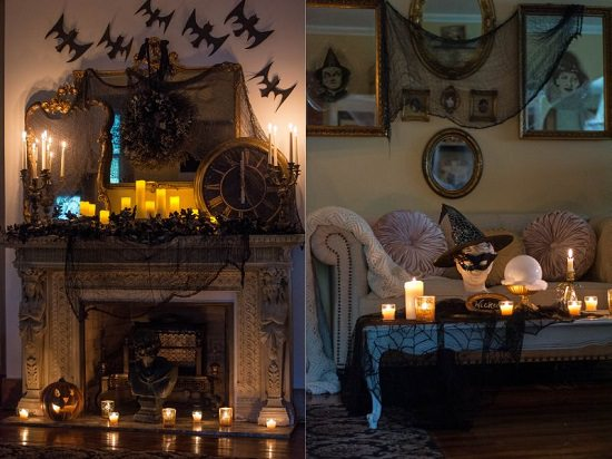 Halloween Lighting Decoration for Living Room1