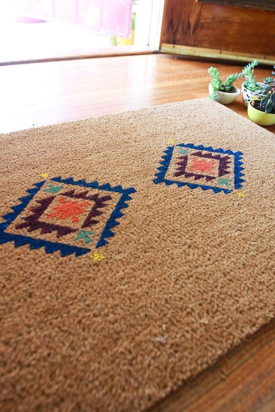 DIY Doormat Idea