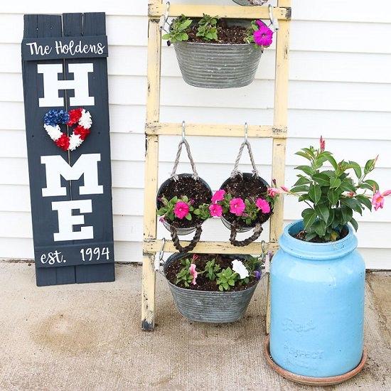 DIY sign Wreath