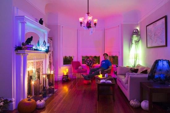 Haunted Living Room Inspiration