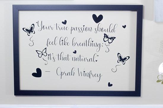DIY Craft Wall Art