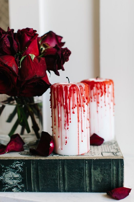 Bloody Candles for Decoration