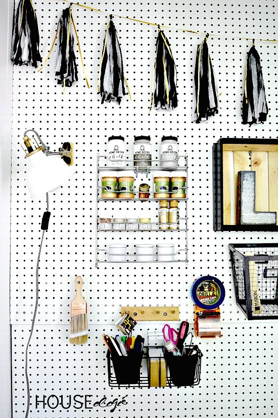 Pegboard Ideas for Craft Room2