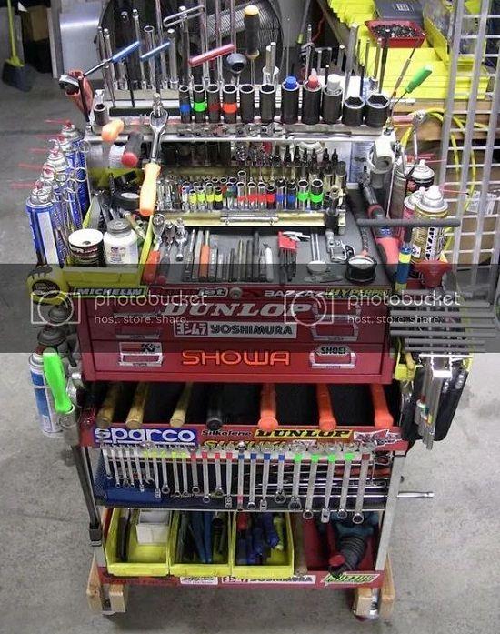 Tool Cart Organization Ideas2