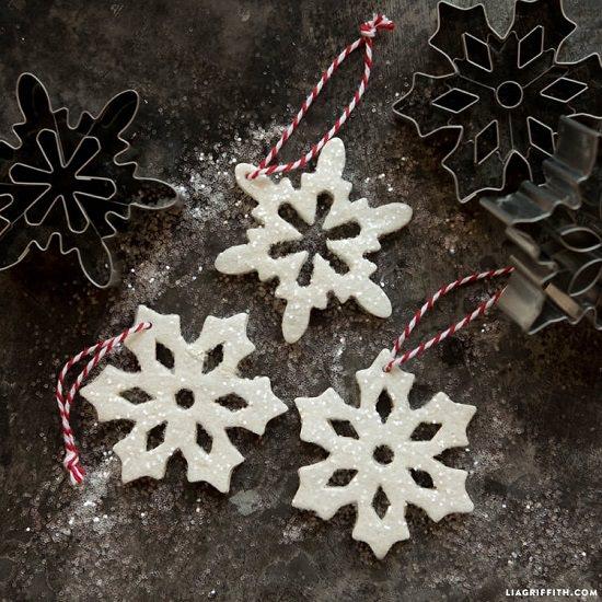 DIY Glitter Ornament Ideas6