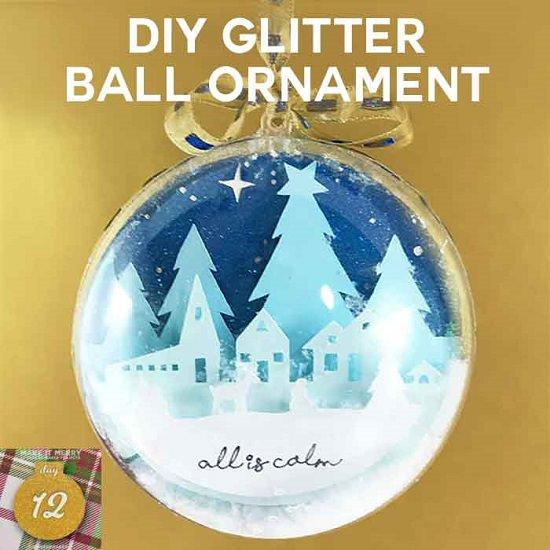 DIY Glitter Ornament Ideas1