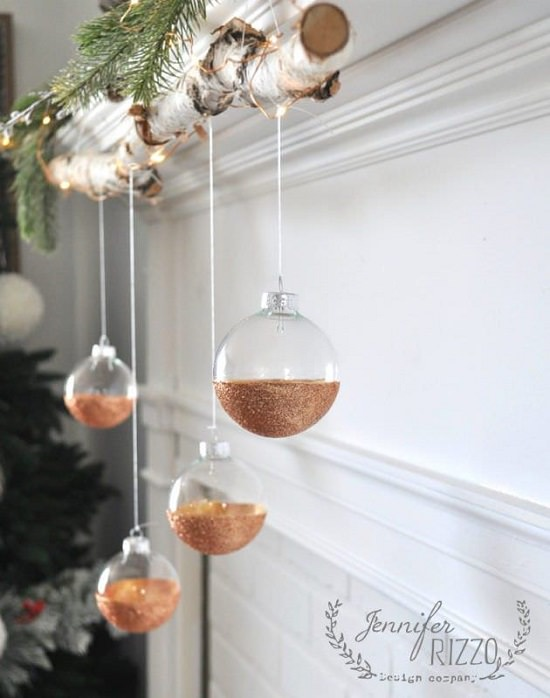 DIY Glitter Ornament Ideas7