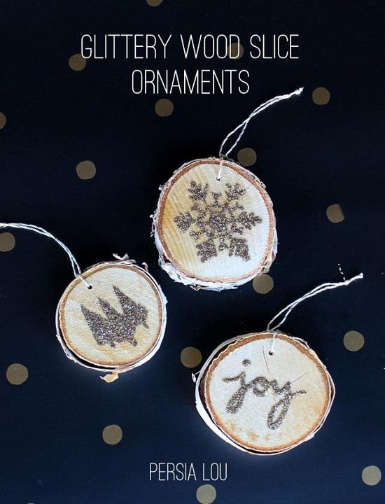 DIY Glitter Ornament Ideas2