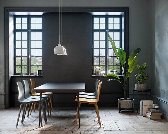 Black Dining Room Decorating Ideas3