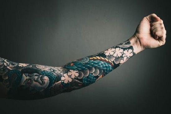 Shea Butter on Tattoo1