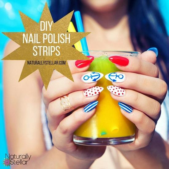 DIY Nail Polish Strips2
