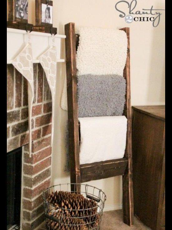 Sturdy Blanket Ladder