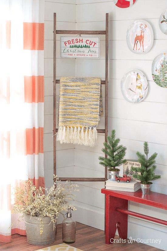 DIY Blanket Ladder Ideas4