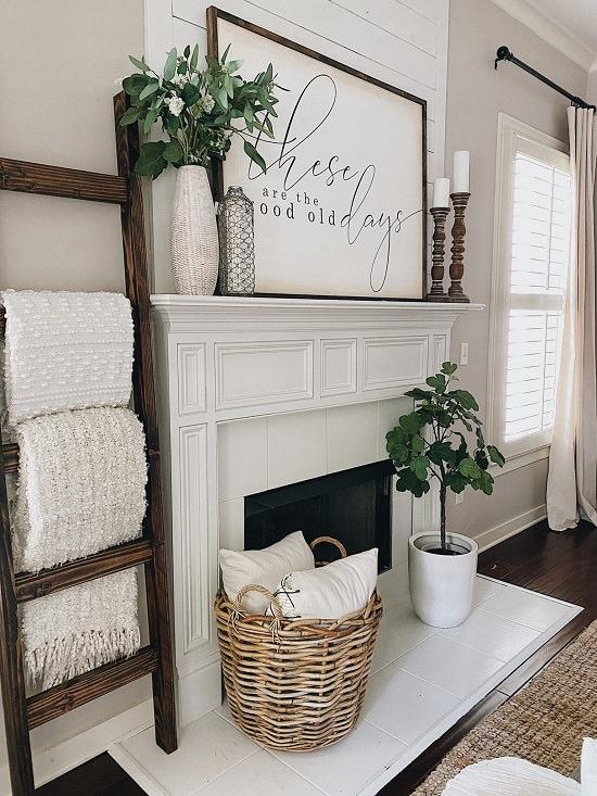 DIY Blanket Ladder Ideas5