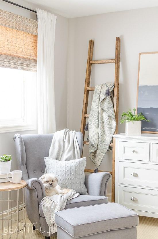 DIY Blanket Ladder Ideas6