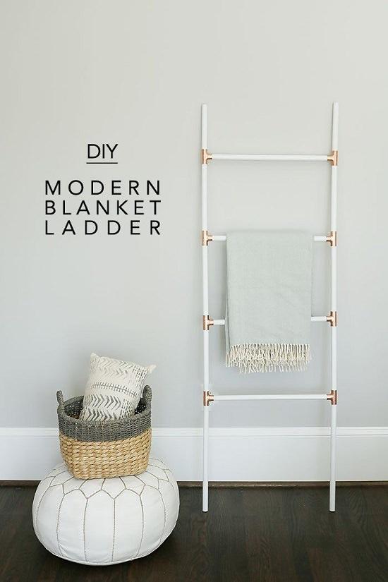 DIY Blanket Ladder Ideas7